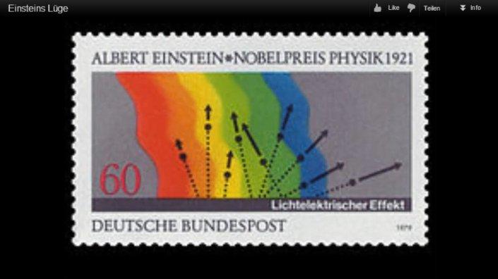 einstein briefmarke