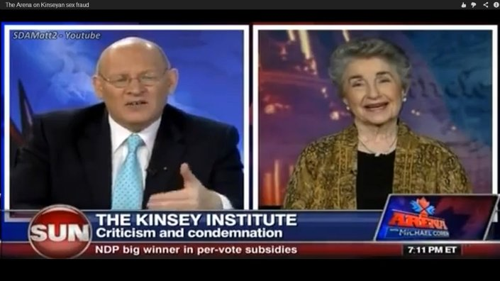 The Arena on Kinseyan sex fraud