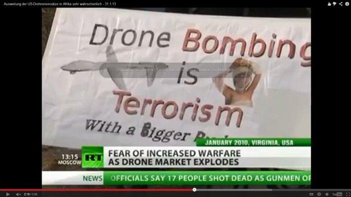 drohnen terrorismus