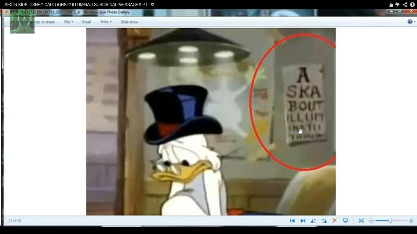 Disney Versteckte Botschaften