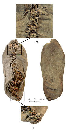 220px-Chalcolithic_leather_shoe_from_Areni-1_cave