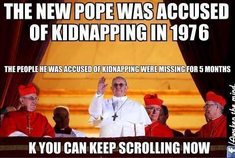papst kidnapping