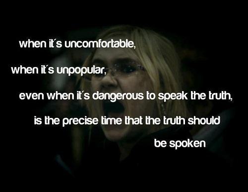 truth unconfortable