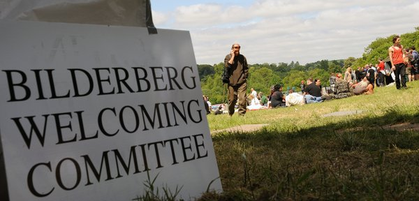 Bilderberg Meeting Protest Grove Hotel 8th June 2013