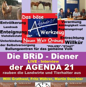Die BRiD-Diener der AGENDA 21