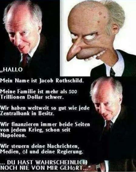 Jacob Rothschild Karikatur